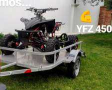 Vendo Cuatriciclo Yamaha YFZ 450 Todo Americano