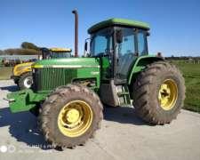 Tractor John Deere 7500. año 1997. Disponible