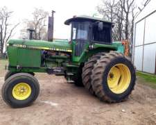 Tractor John Deere 4050 Modelo 1990