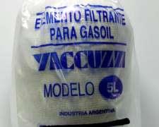 Filtro de Combustible Yaccuzzi 5 Litros