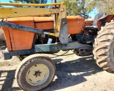 Tractor Fiat 700 con Pala Frontal