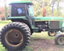 Vendo Tractor John Deere 4730 año 1983 en Excelente Estado