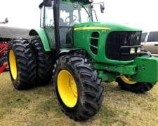 Tractor John Deere 6165j, con Duales, Excelente Estado, 2014