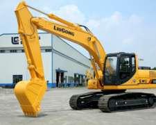 Excavadora Retroexcavadora Liugong CLG 920 21.500kg
