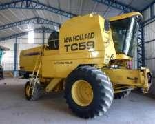 Cosechadora TC 59 New Hollland 2001