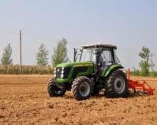 Tractor 125 HP Marca Chery con Cabina Cerrada 4X4