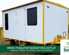 830casilla R4500 4.5mts. X 2.50 Maquinarias Ibarrola