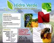 Fermento Organico Vegetal Para Todo Tipo De Cultivos.