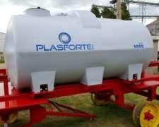 Acoplado Tanque 6000l Plástico