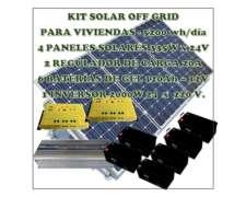 Sistema de Paneles Solares 5000 Wh/días