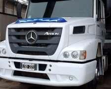 Camion Mercedes Benz Atron 1634, Usado Año 2012