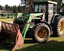 Tractor John Deere 6300, año 1997
