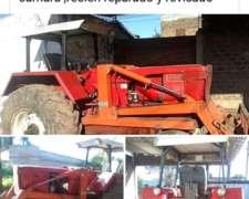 Tractor Fahr con Dirección Hidráulica.
