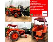 Tractor Fiat R55 con Pala Topadora