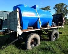 Tanque Apoyo 4400 Lts - Rodado Simple 900 X 20