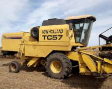 Cosechadora Usada Marca New Holland Modelo TC57 Simple