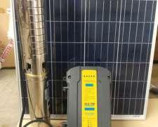 Kit Bombeo Solar Híbrido 9000 Lts Hora .