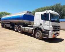 Equipo Tanque Cisterna Con Carga Ventral Para Combustibles