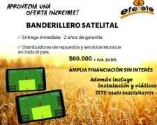 Banderillero Satelital EFE Yefe con Instalación y Viáticos