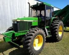 Tractor John Deere 7500, 140hp, 16300hs, 1997
