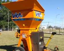 Quebradora/moledora de Granos Transportable 60 Tn/h