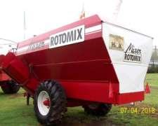 Mixer Horizontal Rossmet - Rotomix 1100 - Reparado