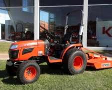 Tractor Kubota con Desmalezadora 1,30 Metro