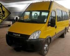 Mini Bus Iveco Daily 2018 500km 19+1 Asientos Todo Vial