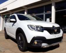 Sandero PH2 Stepway Intens 1.6 16v CVT 0km My20. Disponible