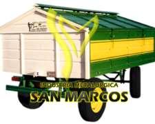 Acoplado Taller Rodante - San Marcos