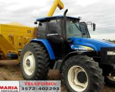 Tractor New Holland, Modelo: Tm135, Año: 2005