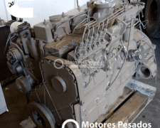Motor Cummins 6cta - 8.3 - 300 HP - Rectificado con Garantía
