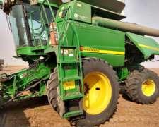 John Deere 9860 Sts. 35 Pies Caracol. Motor Reparado 600 Hs