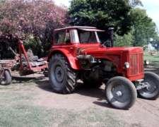 Tractor Hanomag R75 con Motor Deutz Turbo 160 HP