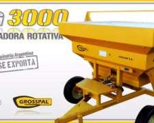Fertilizadora Rotativa Grosspal VG 3000