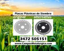 Placa de Siembra Plástica