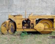 Rodillo Compactador Aplanadora Hombre A Bordo Con Vibrador