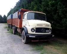 M. Benz 1518 Mod. 90 Enganchado, Acoplado Montenegro Mod 7