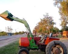 Tractor con Pala Frontal Zanello V-210 Pala Tedeschi