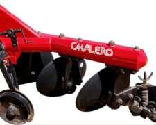 Arado De Discos Fijo - Adp-326 / 328 / 426 / 428 - Chalero