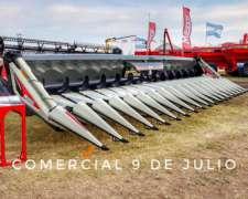 Nuevo Cabezal Maicero Maizco SGS ROW Free - 9 de Julio