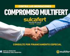Sulcafert: Sulfato De Calcio Granulado - Yeso Agricola +s+ca
