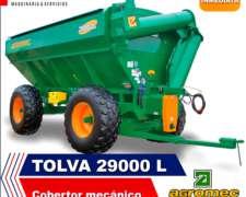 Tolva Autodescargable Agromec 29000 L
