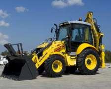 New Holland B95b Extensible 101 Hp. 4x4. Transmisión Carraro
