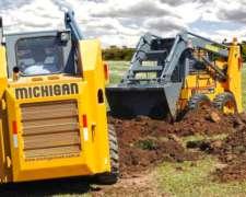 Mini Cargadora Michigan 0 km Financiación Exclusiva