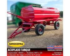 Acoplado Tanque Grosspal- Agrolasic