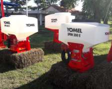 Sembradora Yomel Spin, Neumatica para Pasturas