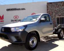 Hilux C/S 2.4 TDI DX 4X2 Chasis 0km MY21 Disponible