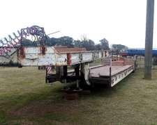 Carreton para Transporte de Maquinarias