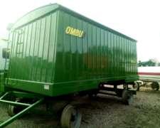 Acoplado Semilla y Fertilizante Ombu - 13mts